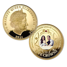 The New Royal Prince Golden Five Crown Coin