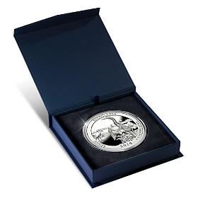 The 2014 Everglades National Park 5 Oz. Silver Bullion Coin