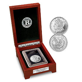 The First-Ever Error Morgan Silver Dollar Coin