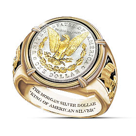 King Of American Silver Ring
