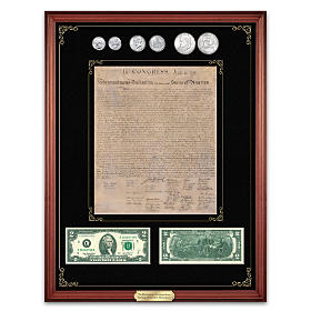 Declaration Of Independence Heritage Of Freedom Currency Set