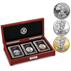 30th Anniversary Silver Eagle Coin Set