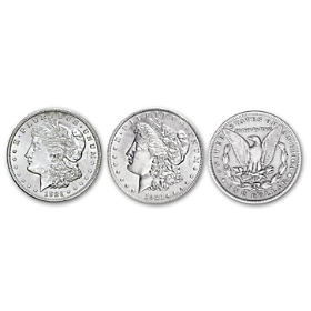 1921 Morgan Silver Dollar Coin Set
