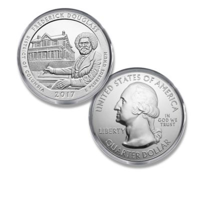 Largest U.S. Legal Tender Frederick Douglass Bullion Coin by