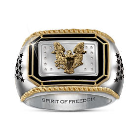 The American Silver Eagle Ingot Ring