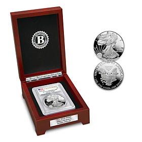 2018 First Strike Proof American Eagle Silver Dollar Coin
