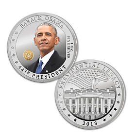 The President Obama 99.9% Silver One Ounce Proof Coin