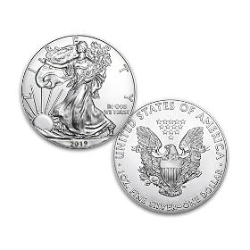 2019 First Strike American Eagle Silver Dollar Coin