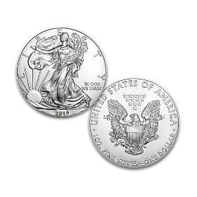 2019 First Strike American Eagle Silver Dollar Coin