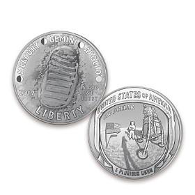 First Strike Apollo 11 Silver Dollar Coin