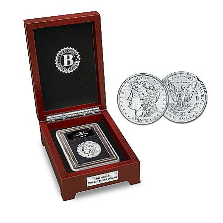 Coin: The First San Francisco Morgan Silver Dollar Coin