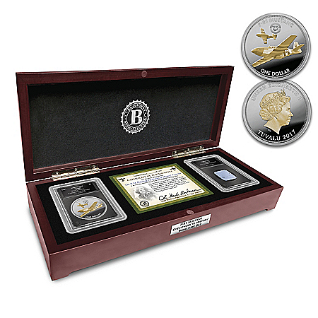 The P-51 Mustang Eyewitness To History Proof Coin Set