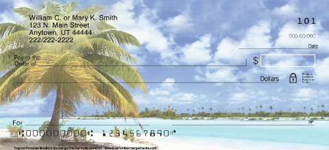Tropical Paradise Personal Checks