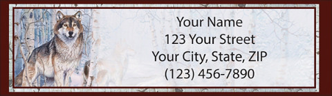 Call of the Wild Return Address Label