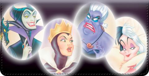 Disney Legendary Villains Checkbook Cover