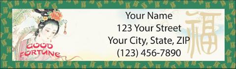 Good Fortune Return Address Label