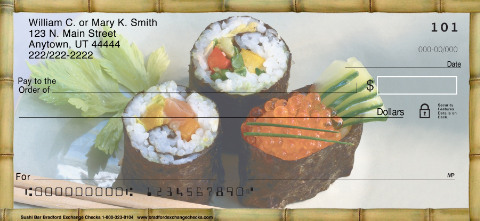 Sushi Bar Personal Checks