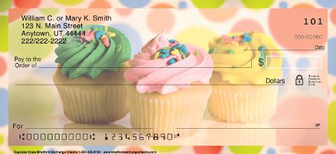 Cupcake Craze Personal Checks