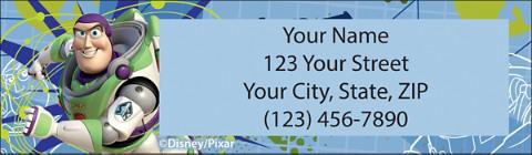 Disney/Pixar Toy Story Return Address Label