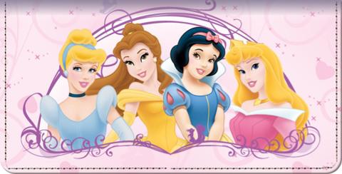 Disney Princess Dreams Checkbook Cover