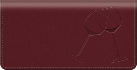 Wine Country Checkbook Cover