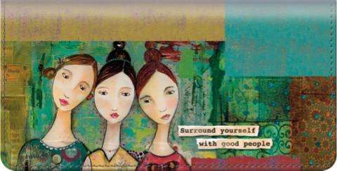 Celebrate Yourself Checkbook Cover