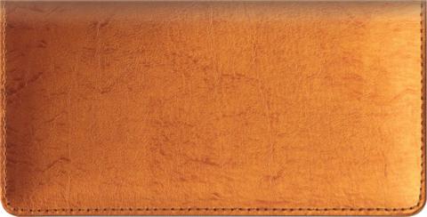 Metallic Copper Checkbook Cover