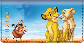 The Lion King Checkbook Cover\