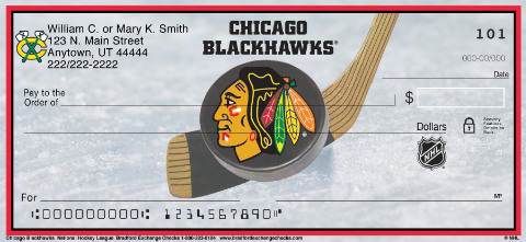 Chicago Blackhawks(R) NHL(R) Personal Checks
