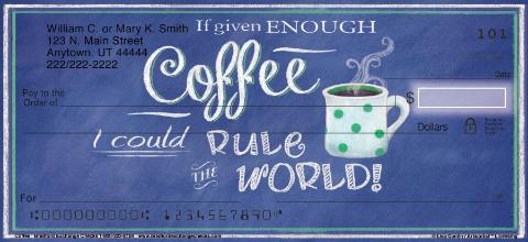 Coffee Talk Personal Checks