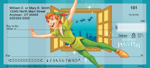 Peter Pan Personal Checks