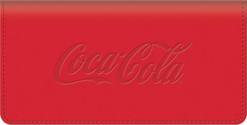 History of Coca-Cola(R) Checkbook Cover