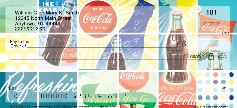 Have a Coca-Cola(R) Personal Checks