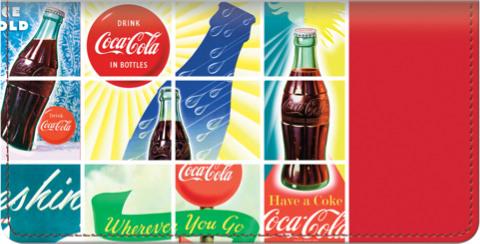Have a Coca-Cola(R) Checkbook Cover