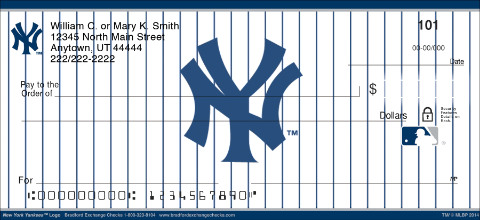 New York Yankees(TM) MLB® Logo Personal Checks