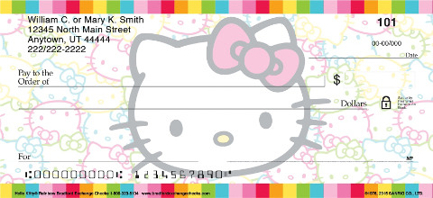 Hello Kitty(R) Colors Personal Checks