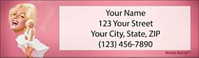 arilyn Monroe(TM) Address Labels