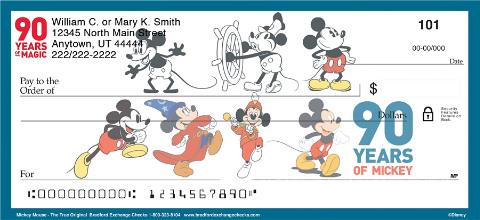 Mickey Mouse - The True Original Personal Checks