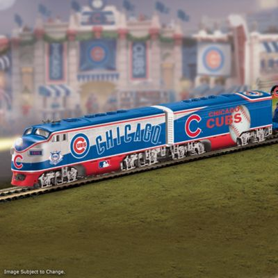 Cubs World Series Champions Electric Train Collection by