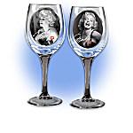 Marilyn Monroe Signature Wine Glassware Collection