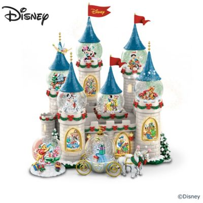 8 Disney Christmas Snowglobes With Lights And Music by