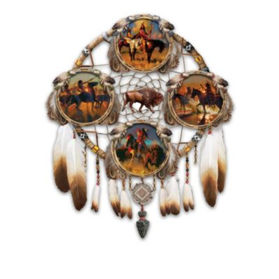 Glow-In-The-Dark Warrior Dreamcatcher Plate Collection by