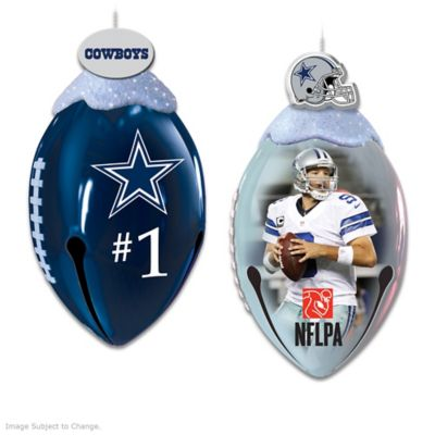 dallas cowboys footbells ornament collection