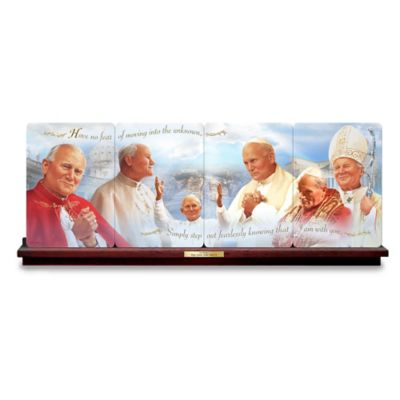 Pope Saint John Paul II Panorama Collector Plate Collection by