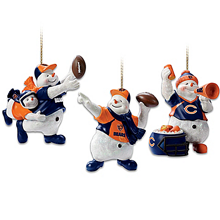 NFL Chicago Bears Christmas Ornament Collection: Coolest Fans