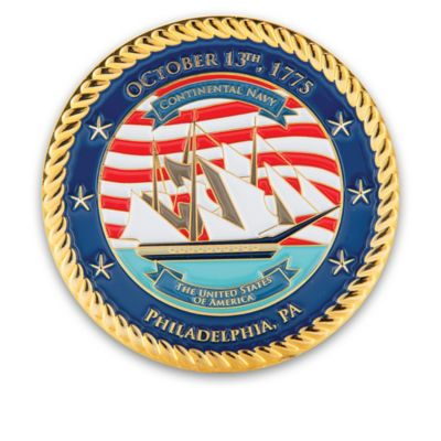 U S Navy Official Commemorative Challenge Coin Collection
