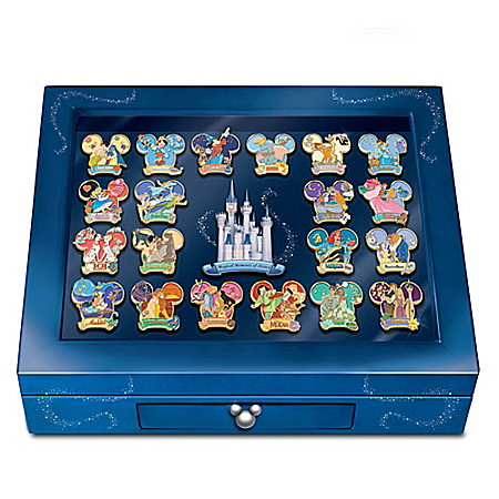 The Magical Moments Of Disney 24K Gold-Plated Pin Collection