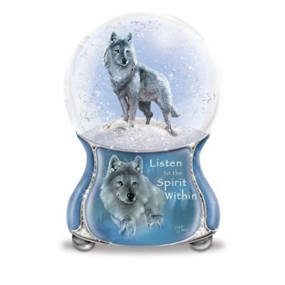 Eddie LePage Spirits Within Musical Glitter Globe Collection by