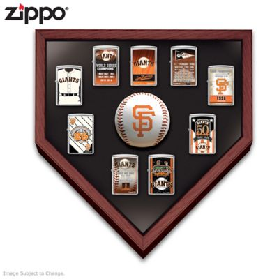 San Francisco Giants™ Zippo® Lighters With Display by