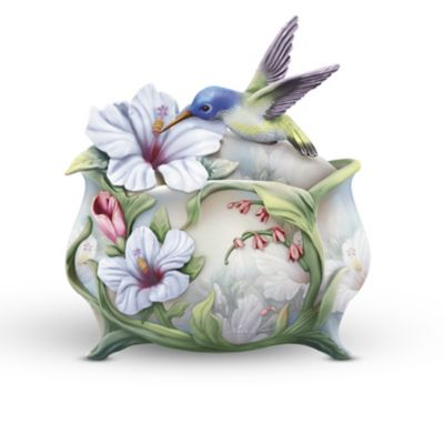 Lena Liu Harmonious Gardens Porcelain Music Box Collection by